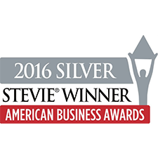 2016 Stevie silver award winner