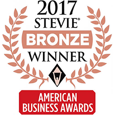 2017 Stevie bronze award winner