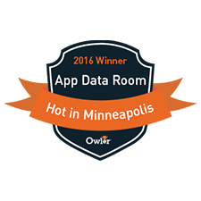 2016 App Data Room hot in Minneapolis award