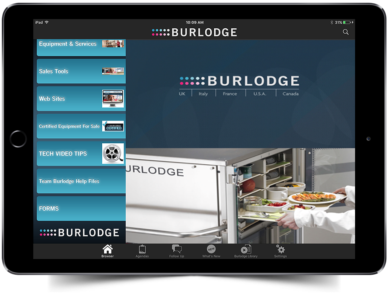 Burlodge iPad