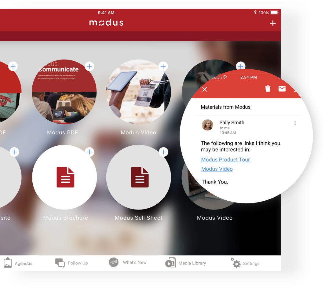 The Modus Platform - Communicate