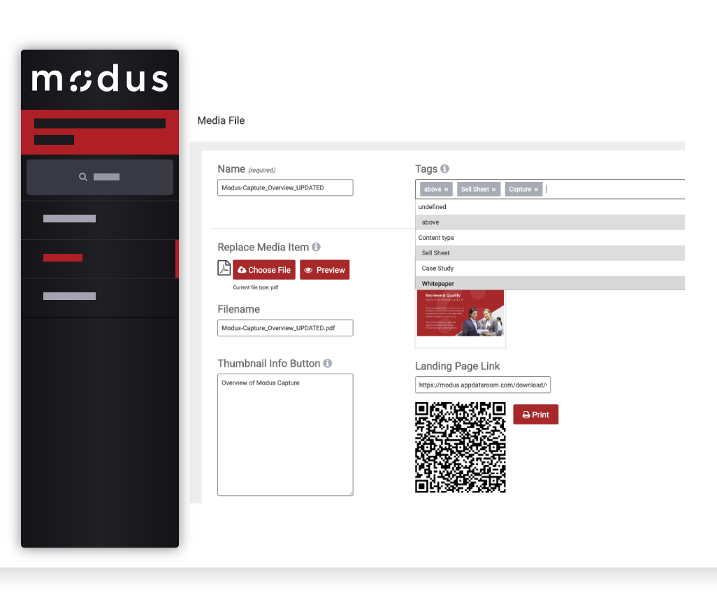 Modus - AI-Powered Search and Tagging
