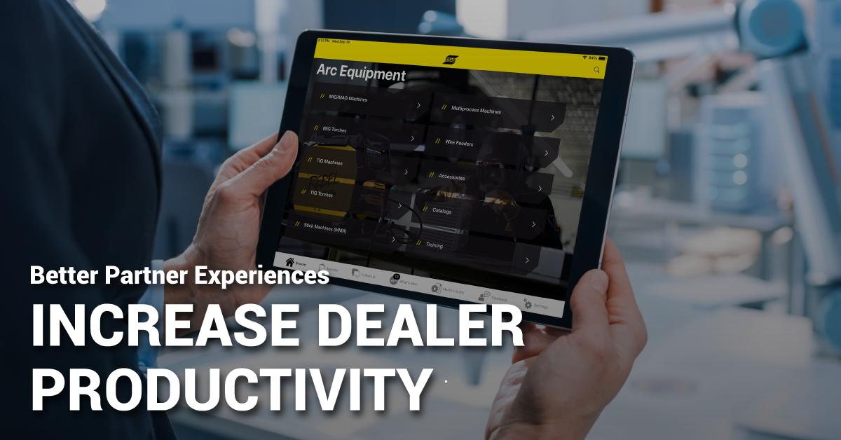 Better Partner Experiences Increase Dealer Productivity