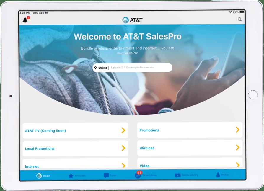 Modus - Retail - Att App - SalesPro