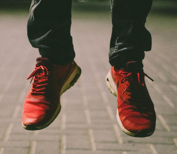 Red-shoes-jumping-gap