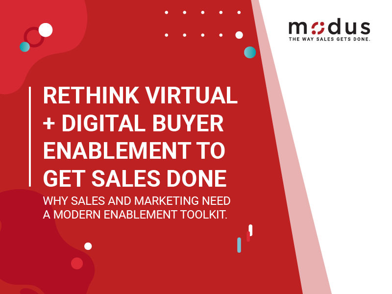 Rethink Virtual Digital Buyer Enablement Resources Image