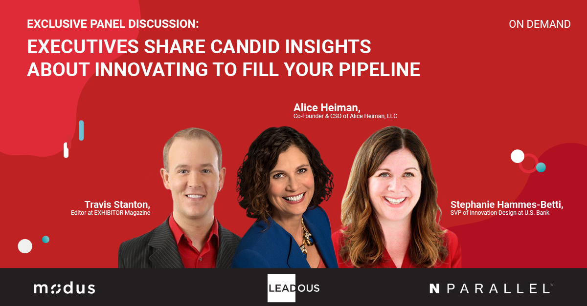 Webinar-Executives Share Candid Insights About Innovating to Fill Your Pipeline