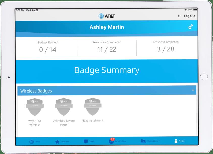Modus - At&t App - Badge