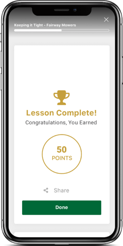 Modus Microlearning - Badges and Rewards