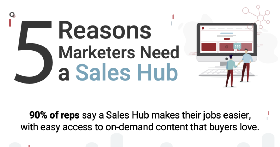 Infographic: 5 Reasons Marketers Need a Sales Hub