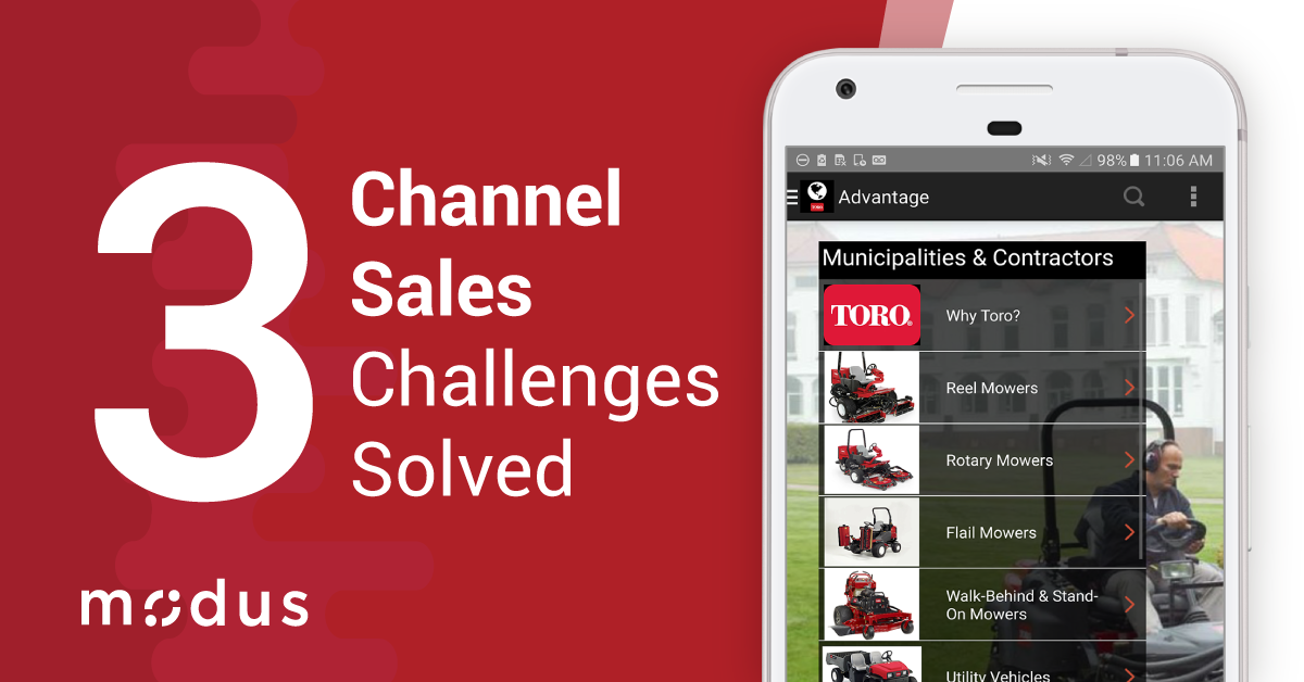 Solving Three Big Channel Sales Challenges
