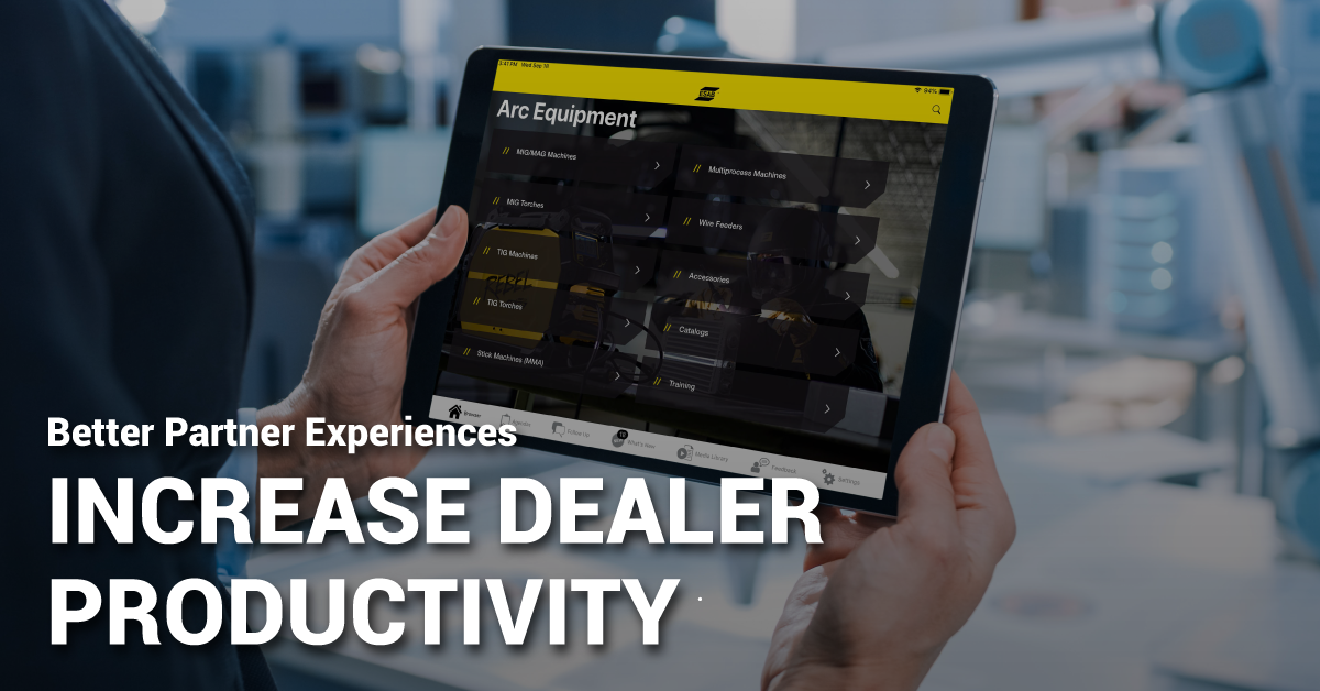 Better Partner Experiences Increase Dealer Productivity
