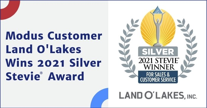 Land O'Lakes Wins 2021 Silver Stevie® Award