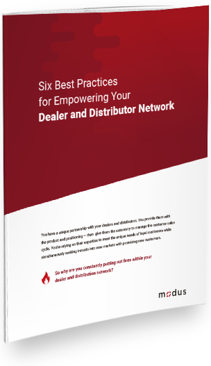 Six Best Practices for Empowering Your Dealer and Distributor Network Cover Image