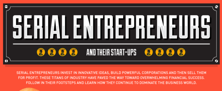 Serial Entrepreneurs [Infographic]